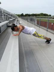 Inclined push-ups
