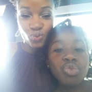 She wanted to do a kissy face!