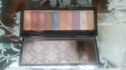 I used this Bobbi Brown palette to highlight my inner eye creases. It gives me a more dramatic effect.