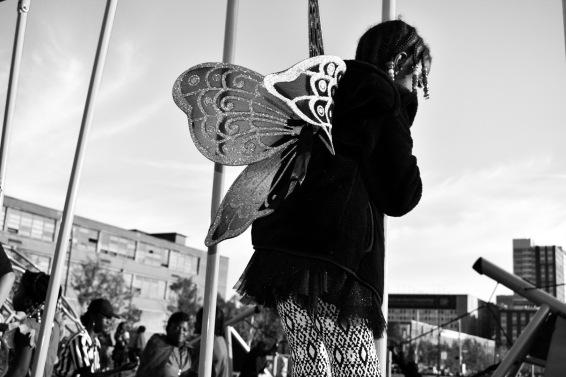 "Jasmine Evadney - A Baltimore Halloween ""Fly"""