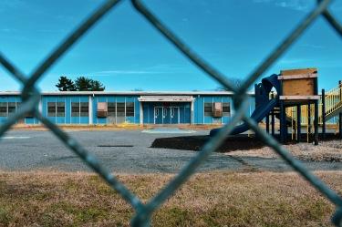 Johnston Square Elementary School playground